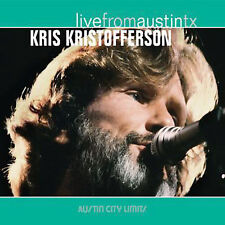 Live from Austin TX [Digipak] by Kris Kristofferson (CD, May-2006, New West (Record Label))