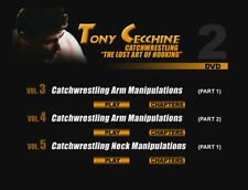Tony Cecchine Catch Wrestling - NEW! DVD Instructionals