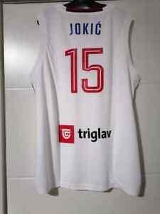 NIKOLA JOKIC SERBIA Official  Jersey WHITE NEW with tag XL SIZE