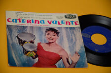 "CATERINA VALENTE 7"" EP PERSONALITA' 1° STAMPA ORIG FRANCE '60 LAMINATED COVER"
