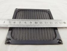 92mm Aluminum Dustproof Filter Dust Mesh Grill Guard PC Case Cooling Fan Black