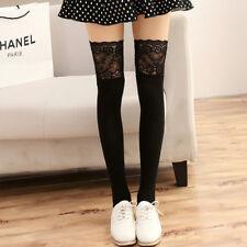 Women Winter Cable Knit Long Boot Socks Over Knee Thigh High Stockings Leggings
