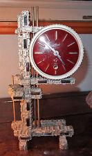 Pendule fabric sss marke clock Schmid engrenage bahaus modernisme Germany