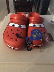 Crocs Classic Clog Lightning McQueen Men's Size 12 New *In Hand* Limited Disney
