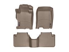 WeatherTech DigitalFit FloorLiner for Honda Accord Sedan - 2008-2012 - Tan