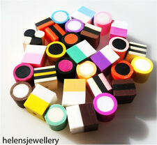 PICK N MIX DOLLY MIXTURES AND LIQUORICE ALLSORTS BEADS -  POLYMER CLAY FIMO