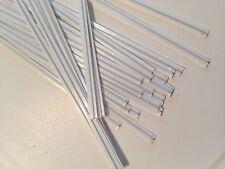 (500 pcs) White Plastic Twist Ties 5/32