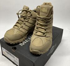 New Men's MERRELL Mid Moab 2 Tactical Combat Desert Boots Sz 9 J15849W Wide