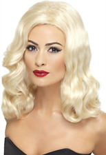 20s Luscious Long Wig, Blonde, with Waves COST-ACC NEW