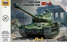IS-2 STALIN (JS-2) HEAVY TANK (SOVIET AARMY MARKINGS) #5011 1/72 ZVEZDA