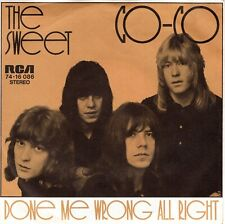 7inch THE SWEET co-co GERMAN 1971  EX   (S1748)