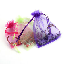 Organza Bags 7x9cm Favor Wedding Party Gift Bag Jewelry Bags Pouches 50pcs/lot