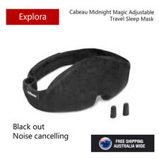 Cabeau Midnight Magic Sleep Mask With Memory Foam Earplug