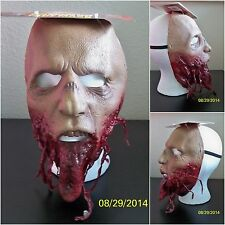 WALKING DEAD JAWLESS JAW WALKER ZOMBIE HALLOWEEN LATEX FACE MASK COSTUME MA1016