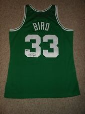 Larry Bird Autograph Mitchell Ness M&N Boston Celtics Jersey ! Fanatics !
