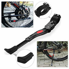 Black MTB Road Bike Side Kickstand Bicycle Adjustable Alloy Stand Side Kick