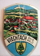 Viechtach used badge mount stocknagel hiking medallion G5567