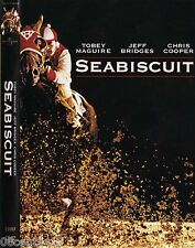 Seabiscuit (DVD) Tobey Maguire, Jeff Bridges, Elizabeth Banks **BRAND NEW**