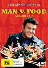 Man Vs Food : Season 1-2 (DVD, 2012, 4-Disc Set)