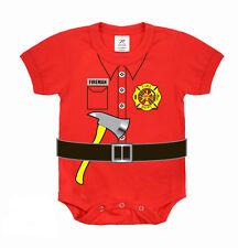 Fireman 1pc Bodysuit | FIREMAN | DRESS | COSTUME | PLAY