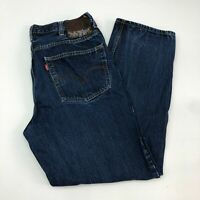 Levi's Jeans Mens 40X32 Blue Relaxed Fit Straight Leg Medium Washed 5 Pocket