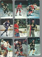 1977-78 Topps Glossy Mini Complete Set 1-22 - Hockey Cards  - Dryden