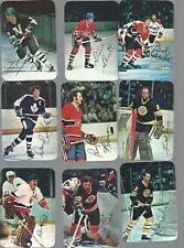 1977-78 Topps Glossy Mini Complete Set 1-22 - Hockey Cards Boxed - Dryden