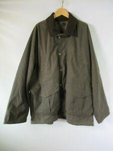 H0629 VTG FilSon Men's Button Down Tin Cloth Field Jacket Size XL