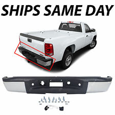 NEW Complete Steel Bumper for 2007-2010 Chevy Silverado GMC Sierra 2500 3500 HD