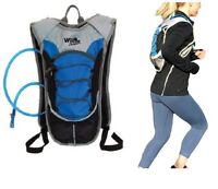Runners Hydration Backpack Pack with 2 Liter Water Bladder for Running Cycling
