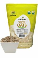 McCabe USDA ORGANIC Regular Rolled Oats (For Oatmeal), 2-Pound