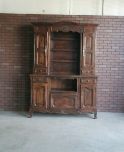 Antique French Hutch ~ China Hutch ~ French Cabinet ~ French Sideboard