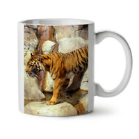 Tiger Rock Photo Animal NEW White Tea Coffee Mug 11 oz | Wellcoda