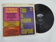The Beatles Tony Sheridan This is Where it Started LP Album Vinyl VG++ Metro