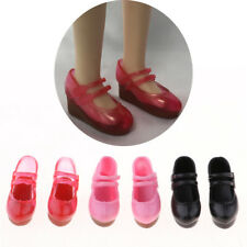 3 Pairs 1/6 Scale Doll Plastic Slope Heels Single Shoes Clothing for Blythe
