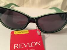 New Style Science Revlon 100% UVA/UVB Black & Green fashion Sunglasses