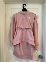 adidas Originals X J Koo Trefoil Ruffle WOMEN'S Pink Spirit Dress FT9897
