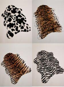 Kuh - Zebra - Tiger - Leopard Fell (künstlich) Kunstfell Fell 70x110cm
