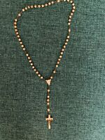 Vintage Mother Of Pearl Rosary Made In Italy