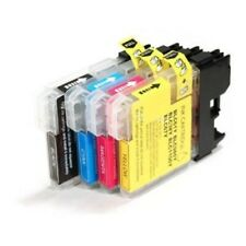 Brother LC61BK-C-M-Y Compatible Ink Cartridge Combo Pack - 4 Cartridges
