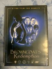 Browncoats: Redemption Dvd Firefly Serenity Rare Original Fan Film
