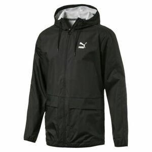 Puma Archive Rain Jacket Inner Breathable Mesh Cycling Running Walking for Men