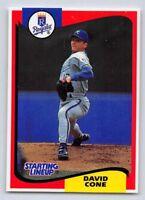 1994  DAVID CONE - Starting Lineup Card - KANSAS CITY ROYALS