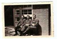Foto 2.WK  deutsche Soldaten Luftwaffe Kaserne ca. 1940 Wehrmacht WW2 C2