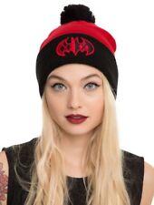 New DC Comics Batman Watchman Harley Quinn Knit Beanie Hat