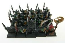Warhammer Night Goblin Spearmen set of 20 miniatures