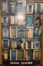 """Genuine Irish Doors Poster Dublin 21"""" x 34.5"""""""