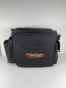 Innova STANDARD Disc Golf Bag Holds 10+ Discs Water Bottle Black Spring Sports
