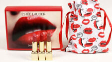 Estee Lauder Sculpted Lips Trio Lipstick Set And Lips Pouch New