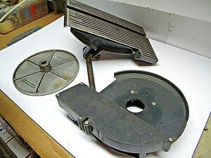 "Craftsman 6X48 Belt Sander 9"" Sanding Disc, Table, Housing, Machiinist, Woodwork"